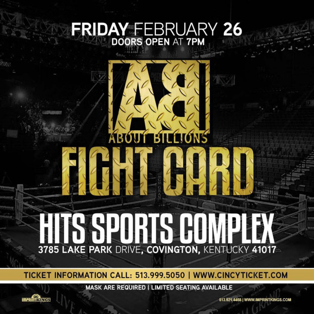 About Billions Presents Professional Boxing Live on Combat Sports Now
