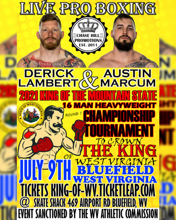 2021 King of WV Round 1 Live on Combat Sports Now