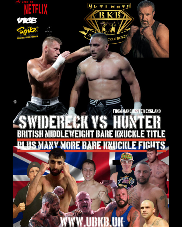 Watch Ultimate Bare Knuckles Boxing - Swidereck vs Hunter  On Demand!