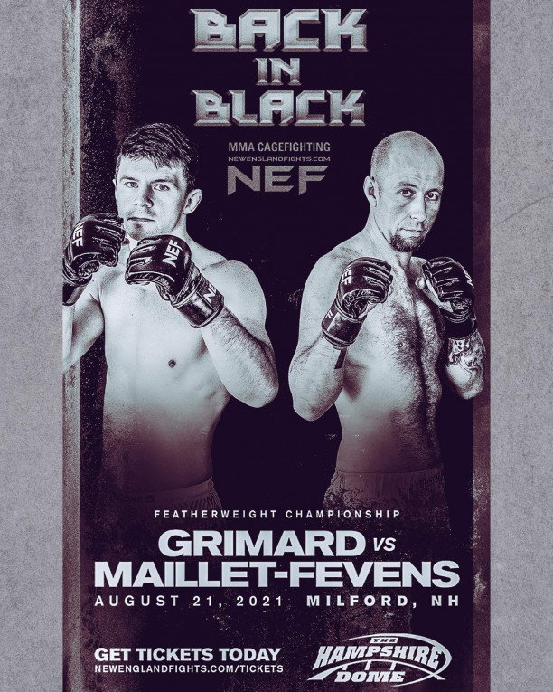 New England Fights 44 Live on Combat Sports Now