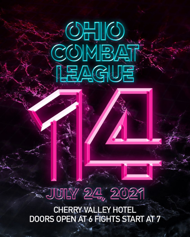 Watch Ohio Combat League 14  Live On PPV and On Demand!