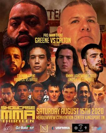 Showcase MMA 13 Live on Combat Sports Now